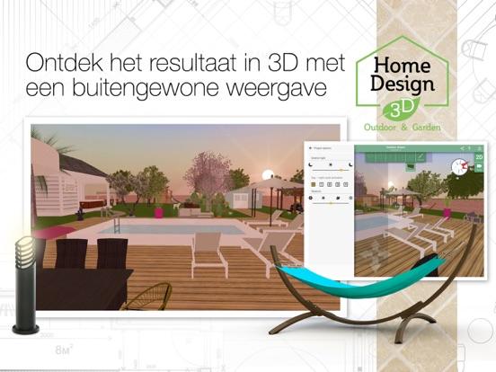 Home design 3d outdoor and garden app voor iphone ipad for Home design 3d ipad