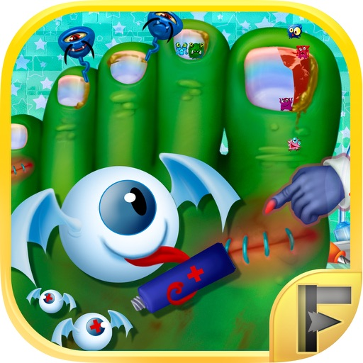 Little Monster Toe Nail Doctor Surgery Hospital - Free Fun Games For Kids iOS App