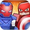 Super-Hero Craft Run 3D - Blocky Marvel Contest of Champions Avengers Civil War Edition