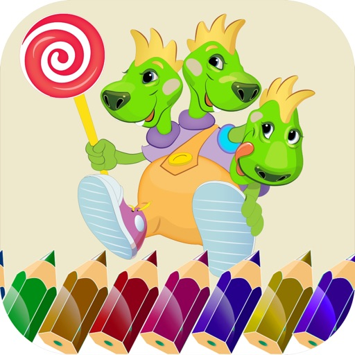 Animals Coloring Book-Free Fun Color Therapy Pages iOS App