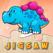 공룡 퍼즐 게임 무료 - 어린이 유아와 유치원 학습 게임에 대한 디노 직소 퍼즐