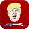 美國總統候選人大戰:圍棋五子棋黑白棋數軍棋獨圈叉占領棋盤免費單機遊戲