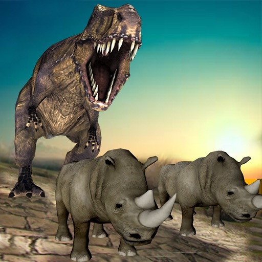 Ultimate Dinosaur Simulator 2016- Deadly Jurassic Rampage Assault Challenge iOS App