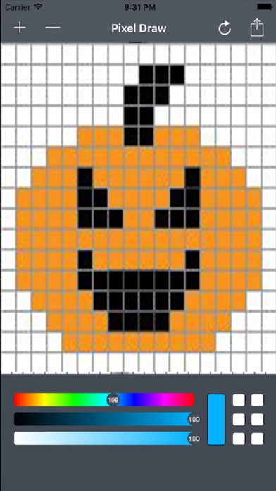 how to draw 8bit graphics