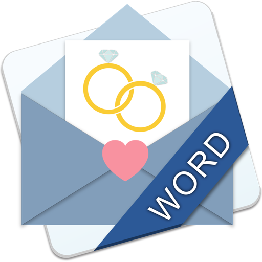 Wedding Invitations & Stationary - MS Word Edition Mac OS X