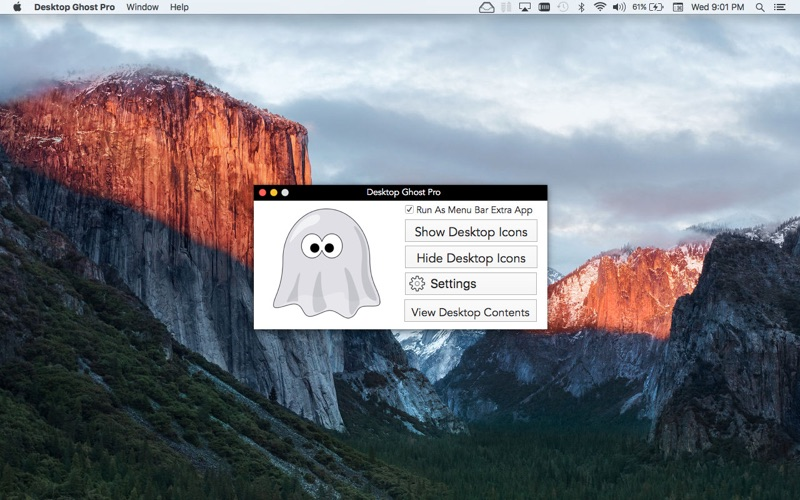 Desktop Ghost Pro Screenshots