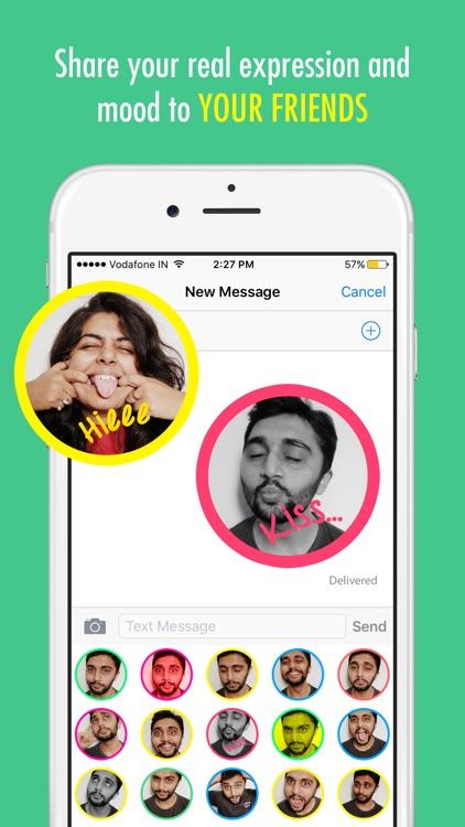 My EmojiFace - Turn My Face into Emoji Maker App by kanu patel