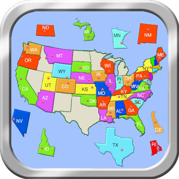 United States Map Puzzle – Home Ideas