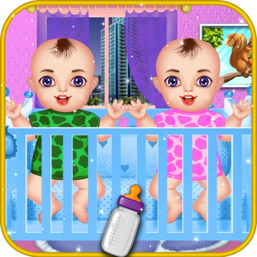Newborn Twins Baby Care - Kids Games for Girls iOS App