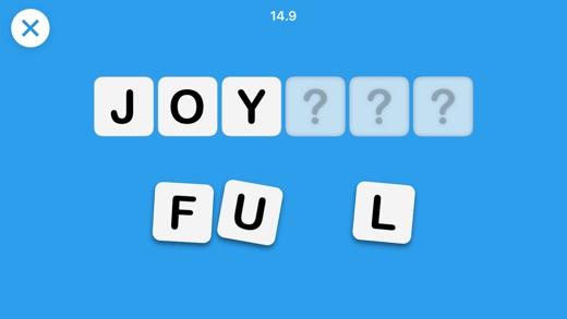 Scrambled - Word Game Screenshot