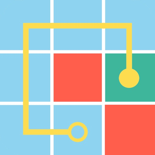 Fill - one-line puzzle game! Through The Fog!