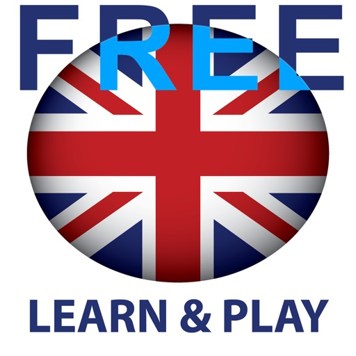 Learn and play English free - Educational game iOS App