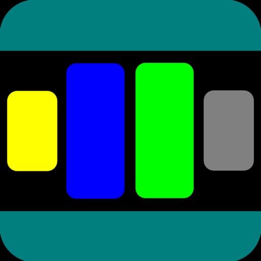 Chromato: Color Split & Merge Arcade iOS App