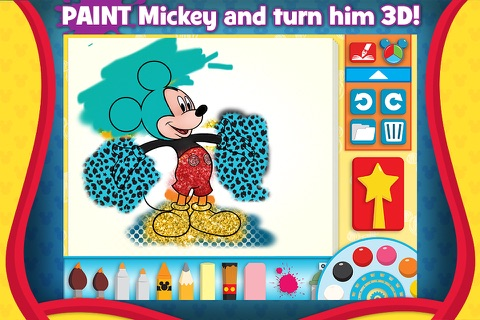 Mickey Mouse Clubhouse - Color & Play screenshot 2