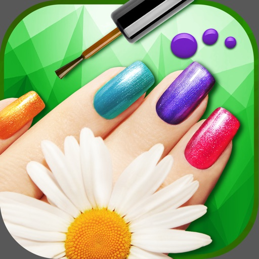 Glitter Nail Art Studio – Paint your Nails in Best Manicure Salon Game for Girl.s iOS App