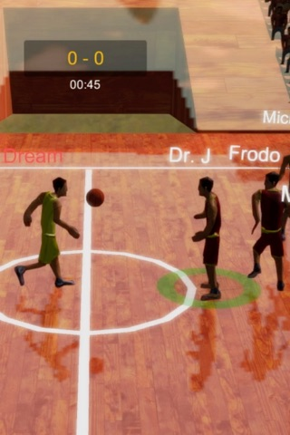 Ultimate Basketball 3D screenshot 1
