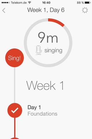 Voxtrain. Singing Lessons. Learn to Sing. screenshot 2