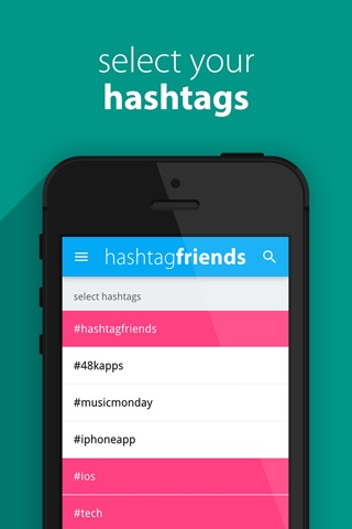 hashtagfriends screenshot 2
