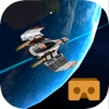 VR Roller Coaster Space ship tour for google cardboard icon