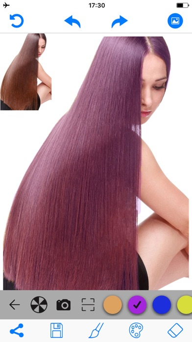 download Hair Color Changer Salon Booth apps 1