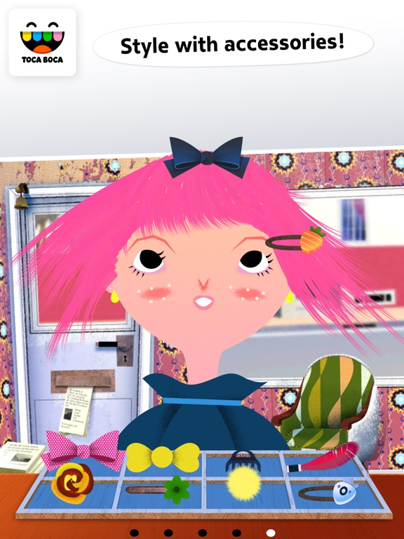 Screenshot #1 for Toca Hair Salon