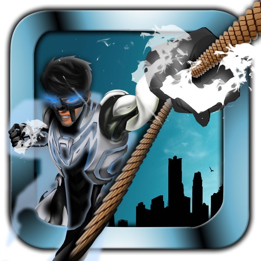 Metal Man Rope - Jump and Fly to Save the City Streets iOS App