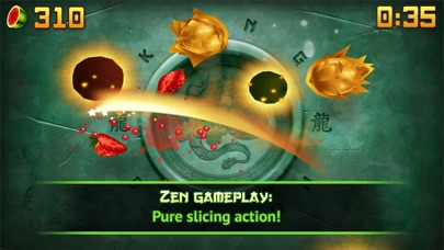 Screenshots of Fruit Ninja for iPhone