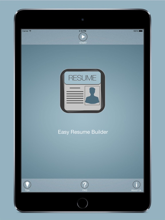 easy resume builder free resume app and cv maker on the app store