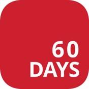 Insane 60 Day Workout Tracker - Custom result logger for high intensity weight loss & fitness program