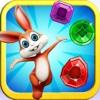 Pop Rabbit Jelly - Match Jewels Dash