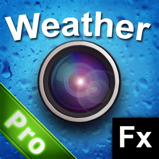 Weather FX Pro - Instant Rain, Sun, Rainbow, Cloud, Snow, Stars by PhotoJus