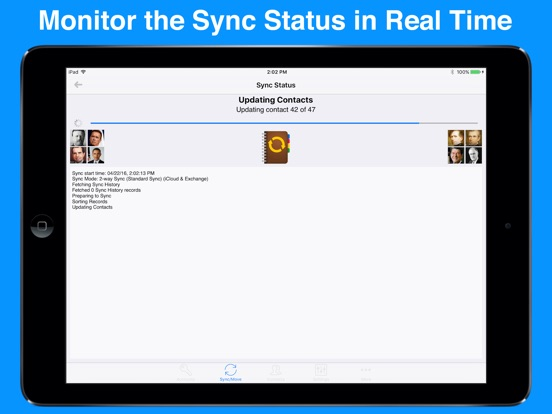 Contact Mover & Account Sync Screenshots