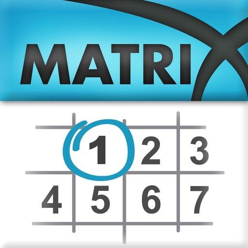 Matrix-Kalender