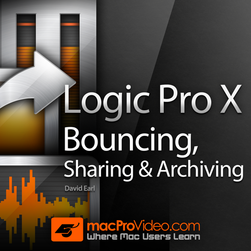 Bouncing, Sharing and Archiving Course For Logic Pro X