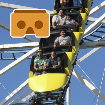 Virtual Reality Roller Coaster... for iPhone