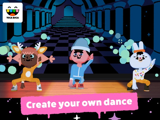 Toca Dance Screenshots