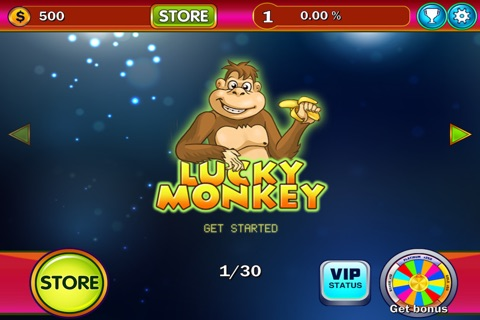 Monkey Game - Casino & Slots screenshot 3