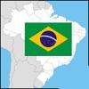 Estados do Brasil - capitais, badeiras, mapa