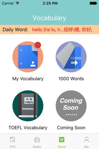 Download XiaoLi Practice Tests for the TOEFL® Test app for