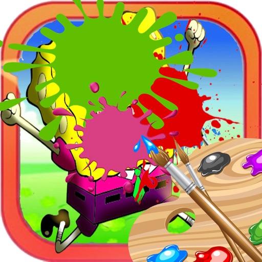 Coloring Pages Episode Sponge Bob Version iOS App