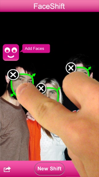 FaceShift Screenshot