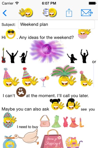 sMaily  the funny smiley icon email app and keyboard for whatsapp screenshot 3