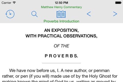 Matthew Henry Commentary screenshot 2