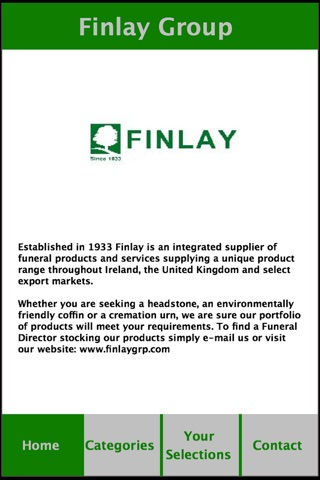 Finlay Group screenshot 1