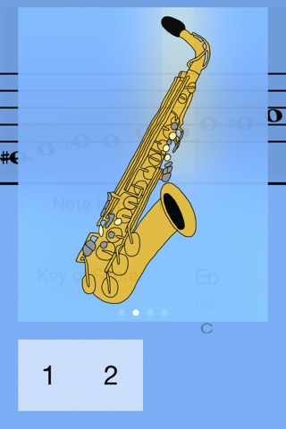 Alto Saxophone Fingering Guide screenshot 3