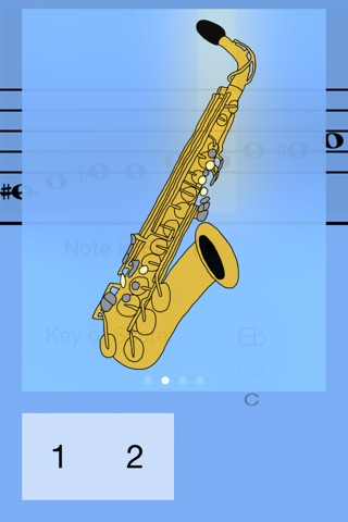 Alto Saxophone Fingering Guide screenshot 3