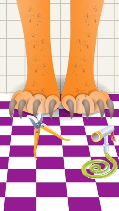 キッズペット美容室プロ、赤ちゃんの足の医師... screenshot1