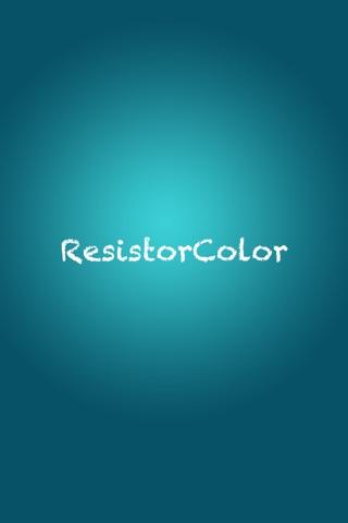 ResistorColor Plus screenshot 1