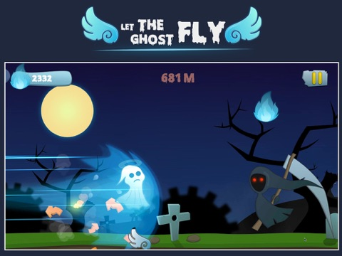 Screenshot #1 for Let the ghost fly