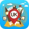 UK United Kingdom offline Travel Guide & Map. City tours: London,York,Manchester,Edinburgh